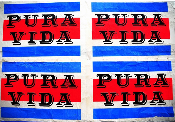 S Mark Gubb, 'Pura Vida', Billboard commission, 2009