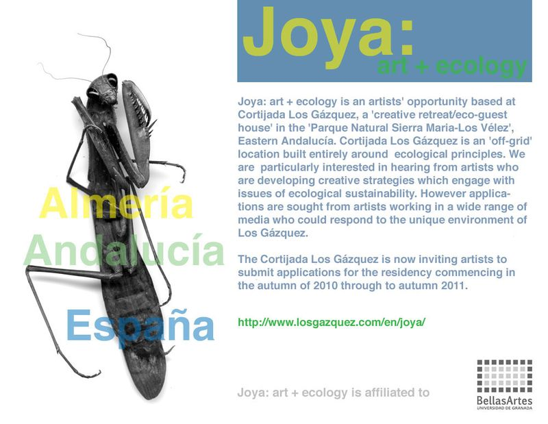 JOYA: art + ecology