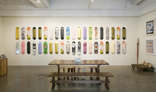 MAKE Skateboards Installation View
