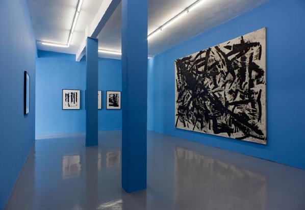 "Anne-Lise Coste, ""d5919bcc3aeeb621e64daf06b703c106"", Installation view, Galerie Reinhard Hauff, Stuttgart"